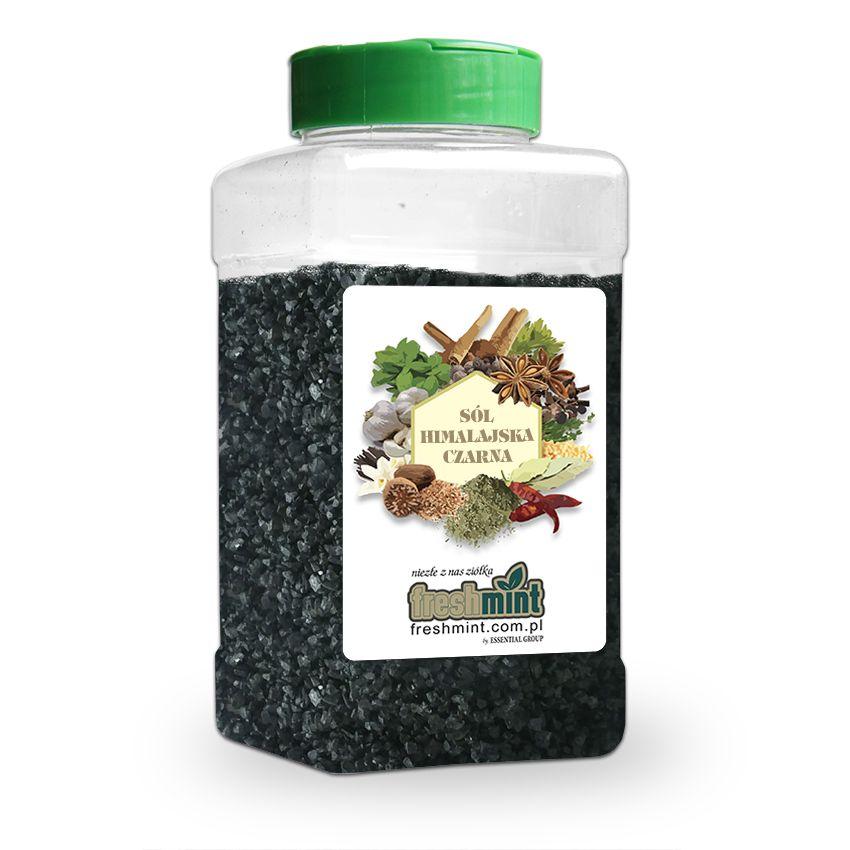 Sól himalajska czarna - Zioła cięte, warzywa, grzyby, owoce egzotyczne i przyprawy Freshmint Łódź