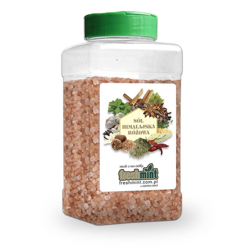 Sól himalajska różowa - Zioła cięte, warzywa, grzyby, owoce egzotyczne i przyprawy Freshmint Łódź
